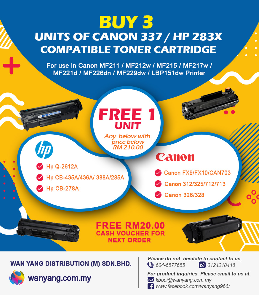 3-Units-Canon-337-HP-283x-compatible-toner-cartridge-free-1